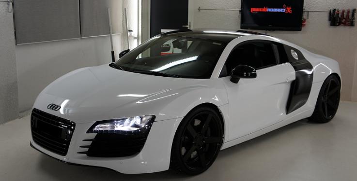 Audi r8 huren js trouwautos